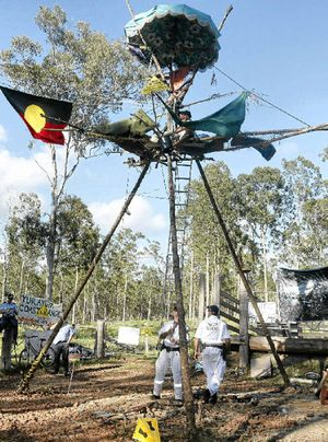 Action against Metgasco drilling at Glenugie, NSW