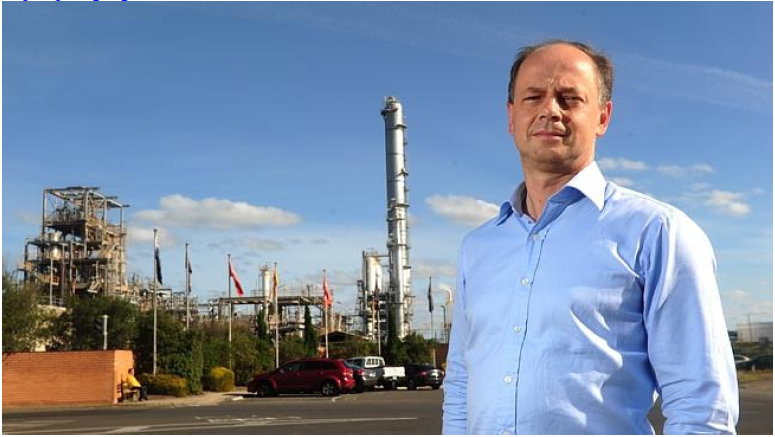 """Andrew Smith, the chairman of the Australian arm of Shell. """"Challenging decisions will face more effective campaigns of public outrage."""" Source: News Limited"""