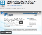 EFA Neoliberalism and psychopathic corporations video